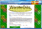 Featured site - Waste oils - Click to open.