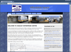 Featured site - Cradley Enterprise Centre - Click to open.