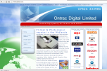 Featured site - Ontrac Digital - Click to open.